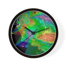 San Francisco earthquake risk forecast Wall Clock