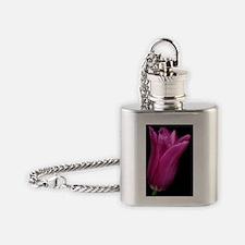 Tulip (Tulipa gesneriana) Flask Necklace