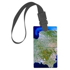 True-colour satellite image of s Luggage Tag