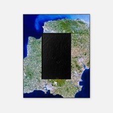 True-colour satellite image of south Picture Frame
