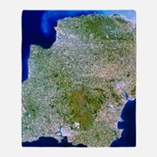 True-colour satellite image of south Throw Blanket
