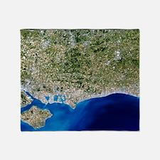 True-colour satellite image of Hamps Throw Blanket