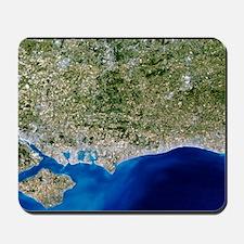True-colour satellite image of Hampshire Mousepad
