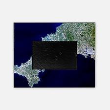 True-colour satellite image of Cornw Picture Frame