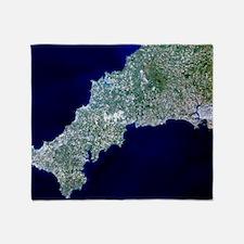 True-colour satellite image of Cornw Throw Blanket