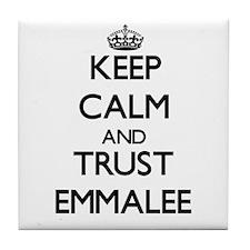 Keep Calm and trust Emmalee Tile Coaster