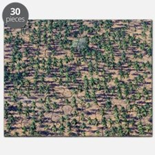 Tropical trees Puzzle