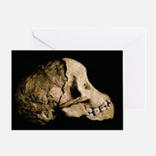 Tuang child skull Greeting Card