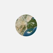 True-colour satellite image of the Ebr Mini Button