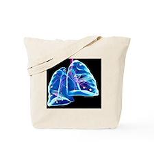 Human lungs, artwork Tote Bag