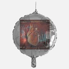 Human heart, artwork Balloon