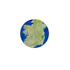 True-colour satellite image of Ireland Mini Button