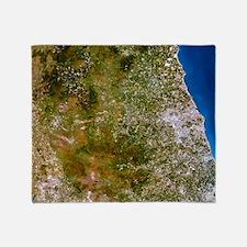 True-colour satellite image of north Throw Blanket
