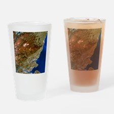 True-colour satellite image of nort Drinking Glass