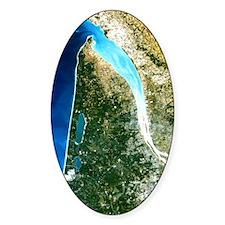 True-colour satellite image of Bord Decal