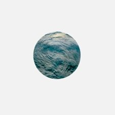 Tropical Storm Iniki seen from space,  Mini Button