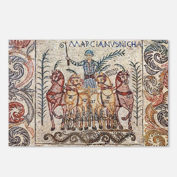 Roman Charioteer Postcards (Package of 8)