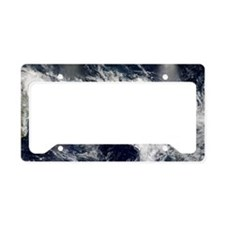 Tropical cyclones License Plate Holder