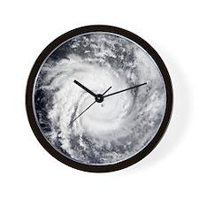 Tropical Cyclone Hary Wall Clock