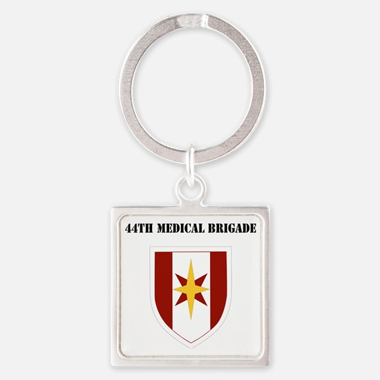 SSI - 44th Medical Command with Te Square Keychain