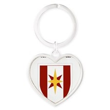 SSI - 44th Medical Command with Tex Heart Keychain