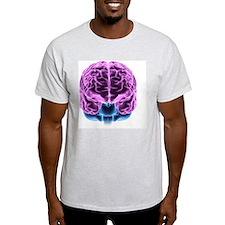 Human brain, computer artwork T-Shirt