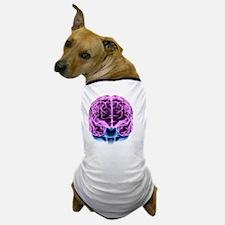 Human brain, computer artwork Dog T-Shirt