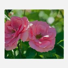 Rose (Rosa 'Bantry Bay') Throw Blanket