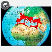 Roman Empire, artwork Puzzle