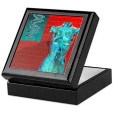 Human genome, conceptual artwork Keepsake Box
