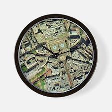 Trafalgar square, aerial photograph Wall Clock