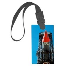Rocket carrying India's first sa Luggage Tag