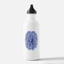 Human brain, computer  Water Bottle