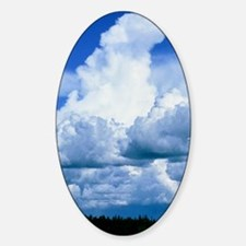 Towering cumulus clouds Decal