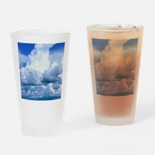 Towering cumulus clouds Drinking Glass