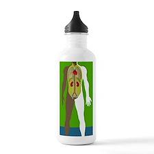 Human anatomy, artwork Sports Water Bottle