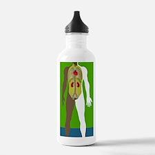 Human anatomy, artwork Water Bottle