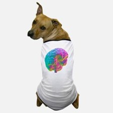 Human brain, computer artwork Dog T-Shirt