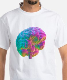 Human brain, computer artwork Shirt