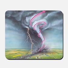 Tornado dynamics Mousepad