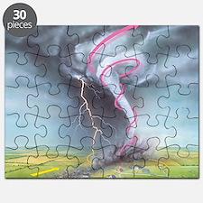Tornado dynamics Puzzle