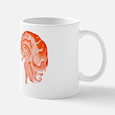 Human brain, artwork Mug