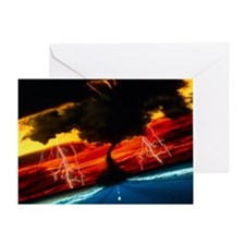 Tornado Greeting Card