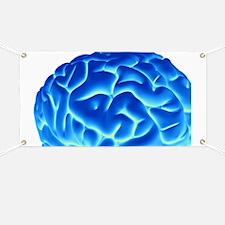 Human brain, artwork Banner