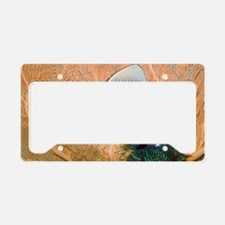 Redtail butterflyfish and sea License Plate Holder