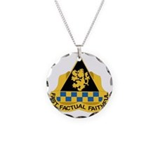 DUI - 525th Military Intelli Necklace