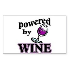 WINE Rectangle Decal