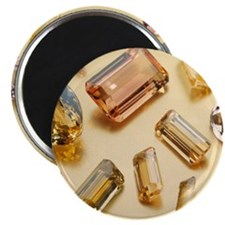 Topaz gemstones Magnet