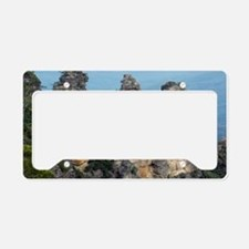 Three Sisters rock formation, License Plate Holder