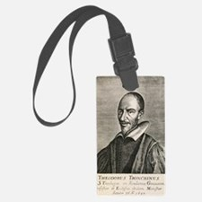 Theodore Tronchin, French theolo Luggage Tag